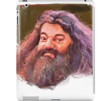 Hagrid : harry potter character iPad Case/Skin
