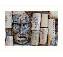 Tiki & Cork Art Print