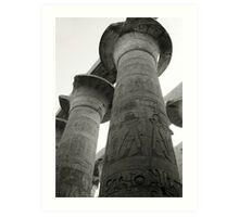 Luxor Column Art Print