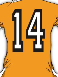 TEAM SPORTS, 14, NUMBER 14, FOURTEEN, FOURTEENTH, Competition,  T-Shirt