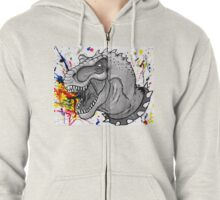 Destroy the normal things Zipped Hoodie