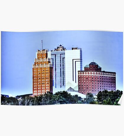 Buildings Poster