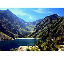Lac Lauvitel, Ecrins National Park, France Photographic Print