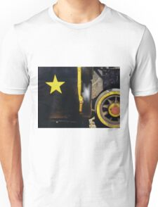 Cause out on the edge of darkness, there rides a peace train Unisex T-Shirt
