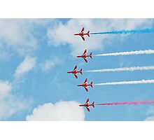 The Red Arrows team Photographic Print