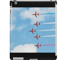 The Red Arrows team iPad Case/Skin