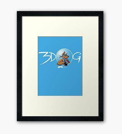 3-Dog #1 Framed Print