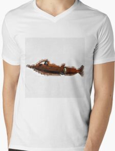 The Nautilus by Pierre Blanchard Mens V-Neck T-Shirt