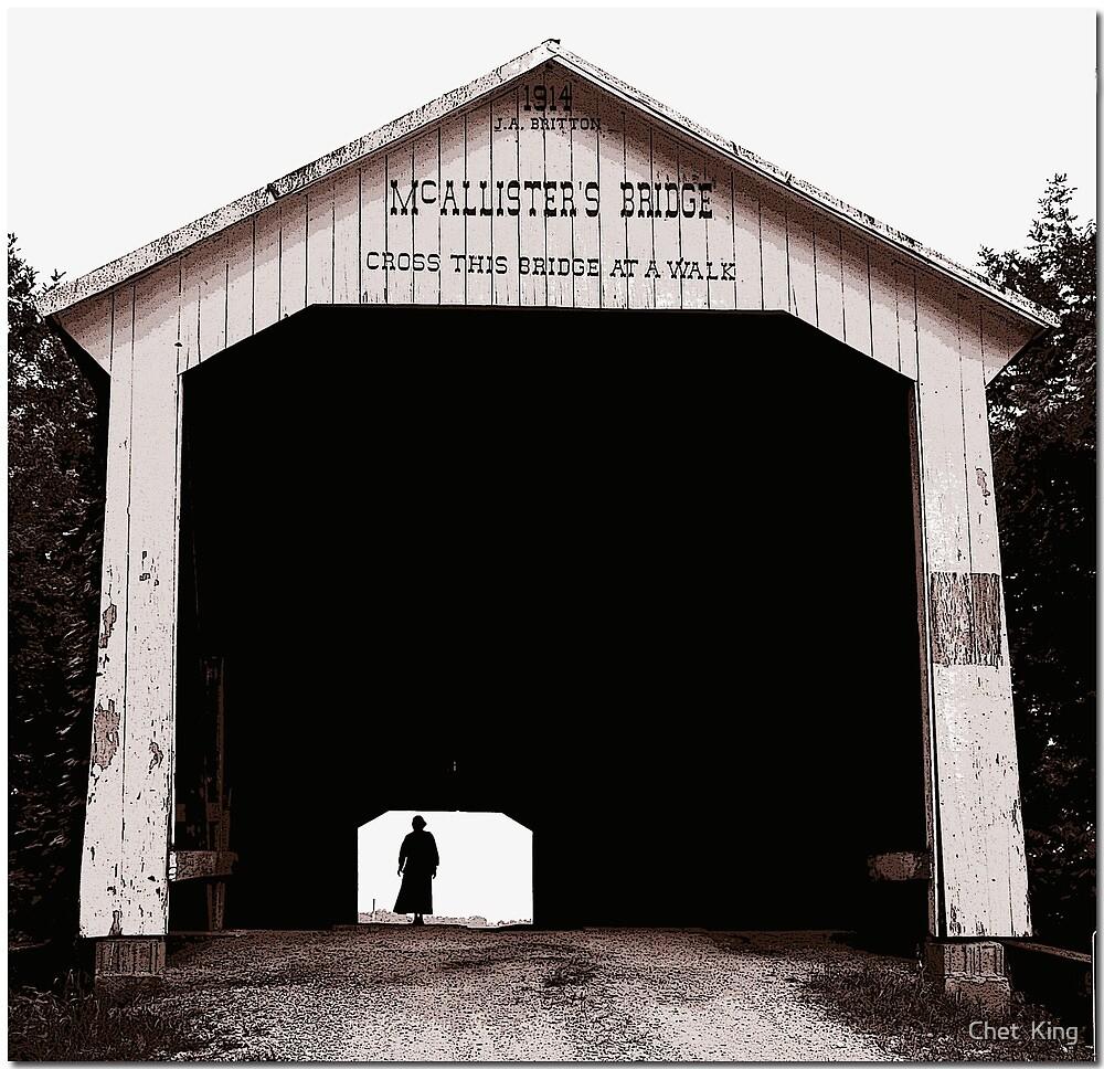 McAllister Bridge by Chet  King