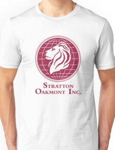 The Wolf of Wall Street Stratton Oakmont Inc. Scorsese (in burgundy) Unisex T-Shirt
