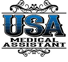 USA MEDICAL ASSISTANT by teeshoppy