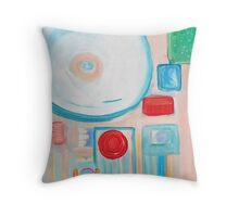 Hi! Throw Pillow