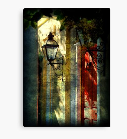 Charming Old Charleston, SC Canvas Print