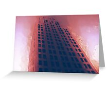 Cityscapes - Hellfire Greeting Card