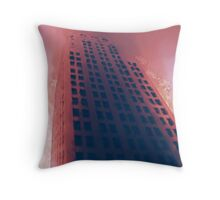Cityscapes - Hellfire Throw Pillow