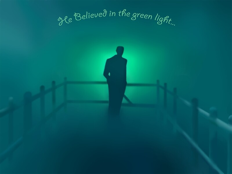 the green light makes the world go around in the great gatsby This is often a good time to go around the room and phrase may mean to shine a light elsewhere the color green the great gatsby in.