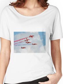 Red Arrows formation Women's Relaxed Fit T-Shirt