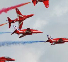 Red Arrows formation Sticker