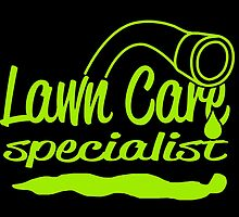 LAWN CARE SPECIALIST by tdesignz