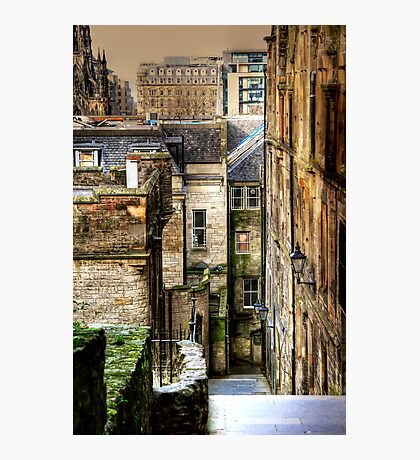 Advocate's Close, Edinburgh Photographic Print