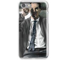 Benedict Cumberbatch - smoking iPhone Case/Skin