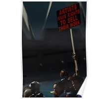 Artists Have Rights Poster