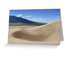 Sand Pit, the Great Sand Dunes, CO 2010 Greeting Card