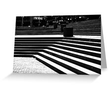 Stair Lines Greeting Card