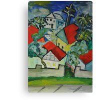 Our Street Again Canvas Print