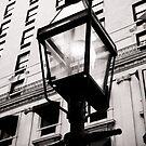 Old Steet Lamp  by Edward Myers