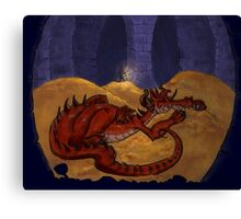 The Hobbit - Smaug the Terrible Canvas Print