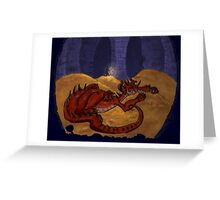The Hobbit - Smaug the Terrible Greeting Card
