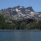 Lower Sardine Lake & The Sierra Buttes by Patty Boyte