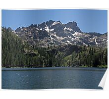 Lower Sardine Lake & The Sierra Buttes Poster