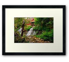 Historic Clifton Mill Framed Print