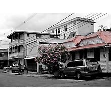 Streets of Dominica Photographic Print
