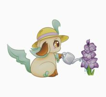 Leafeon watering the Gladiolus T-Shirt