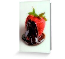 Strawberry Dip Greeting Card
