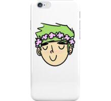 M flower boy iPhone Case/Skin