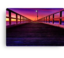 """Eastbound"" Canvas Print"