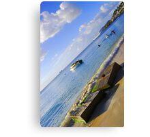 Blue Days- Grenada Canvas Print