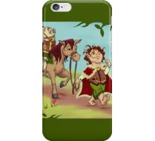The Hobbit - And Back Again iPhone Case/Skin