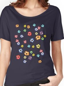 Watercolour Blossoms Women's Relaxed Fit T-Shirt