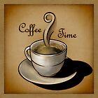 Coffee Time by Khalid Al-Aydeross