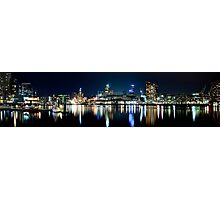 Docklands Panorama - Melbourne Photographic Print