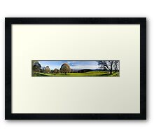Vista Amongst Destruction - Kinglake Fires Framed Print
