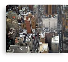 New York City Streetscape Metal Print