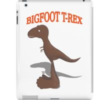 Bigfoot T-Rex iPad Case/Skin