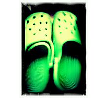 Green Feet Photographic Print