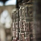 Prayer Wheel - Nepal by Marcus Krigsman